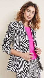 FRAME Zebra Blazer at Shopbop