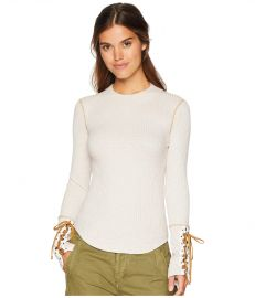 FREE PEOPLE MOUNTAINEER CUFF TOP at Zappos