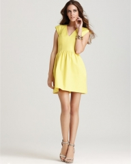 FRENCH CONNECTION Dress - Unno in yellow at Bloomingdales