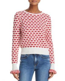 FRENCH CONNECTION Kiss Print Sweater Women - Bloomingdale s at Bloomingdales