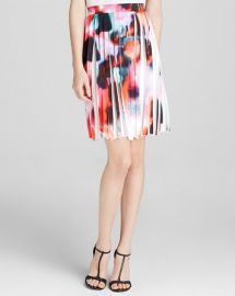 FRENCH CONNECTION Skirt - Miami Graffiti Pleat at Bloomingdales