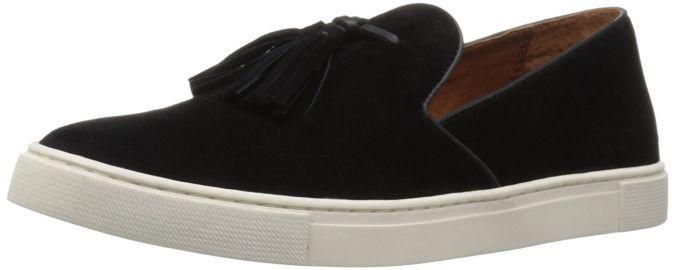 FRYE Women s Gemma Tassel Slip Fashion Sneaker at Amazon
