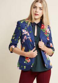 Fab Floral Designer Blazer at ModCloth