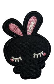 FabStix Bunny BFFs Iron on Patch  at Amazon