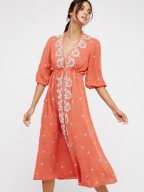 Fable Midi Dress at Free People