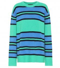 Face wool sweater at Mytheresa
