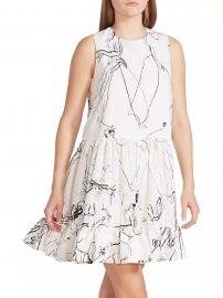Faces Sleeveless Babydoll Mini Dress at Saks Fifth Avenue