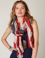 Faded Flag Scarf at Free People