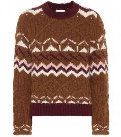 Fair Isle alpaca-blend sweater at Mytheresa