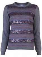 Fair Isle sweater by Gryphon at Farfetch