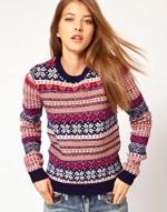 Fair isle sweater like Roses at Asos