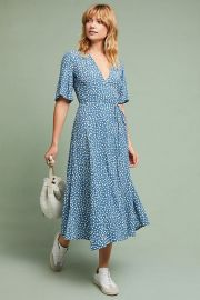 Faithfull Daytime Floral Dress at Anthropologie