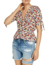 Faithfull the Brand Lucy Wrap Top Women - Bloomingdale s at Bloomingdales