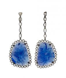 Fall 2015 Blue Earrings at Kimberly McDonald