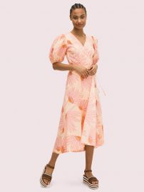 Falling Flower Wrap Dress by Kate Spade at Kate Spade