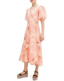 Falling Flower Wrap Dress by Kate Spade at Zappos