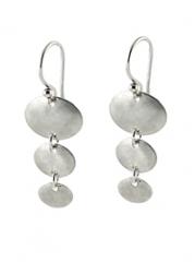 Falling Petal Earrings at Peggy Li