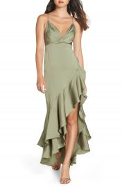Fame and Partners The Bristol High Low Dress at Nordstrom
