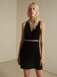 Fancy Waist V-Neckline Dress by Barbara Bui at Barbara Bui