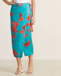 Fantasia Wrap Floral Skirt at Century 21