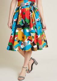 Far Out and Fabulous Midi Skirt at ModCloth