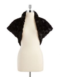 Faux Fur Bolero at Lord & Taylor