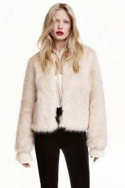 Faux Fur Jacket at H&M