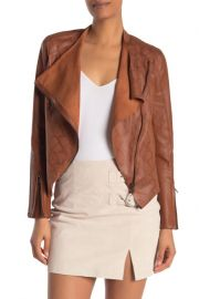Faux Leather Jacket at Nordstrom Rack