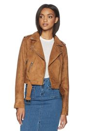 Faux Suede Moto Jacket by Levis at Amazon