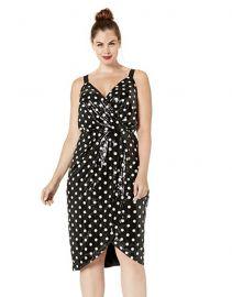 Faye Sequined Polka-Dot Dress by RACHEL Rachel Roy at Amazon