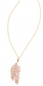 Feather necklace by Gorjana at Shopbop