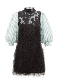 Feathery Cotton Dress by Ganni at Matches