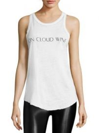 Feel The Piece - On Cloud Wine Tank Top at Saks Fifth Avenue