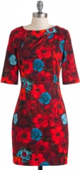 Feel the Vibrant Dress at Modcloth