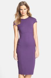 Felicity   Coco Seamed Pencil Dress   at Nordstrom