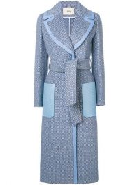 Fendi Belted single-breasted Coat - Farfetch at Farfetch