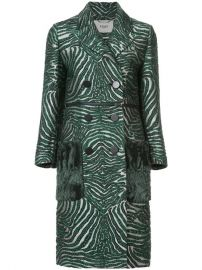 Fendi Double Breasted Zebra Coat  5 050 - Buy Online SS18 - Quick Shipping  Price at Farfetch