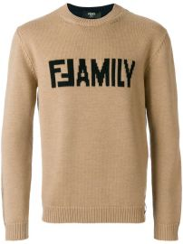 Fendi Family Sweater - Farfetch at Farfetch