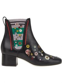 Fendi Floral Embroidered Boots  1 100 - Shop SS18 Online - Fast Delivery  Price at Farfetch