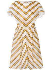 Fendi Striped Shift Dress - Farfetch at Farfetch