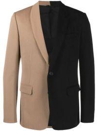 Fendi two-tone slim-fit Jacket - Farfetch at Farfetch