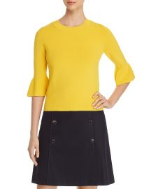 Fenella Bell-Sleeve Top by Boss at Bloomingdales