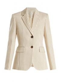Fenice single-breasted pinstriped blazer at Matches