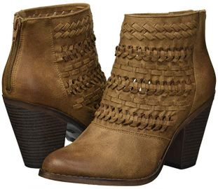 Fergalicious Wanderer Braided Boots at Amazon