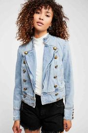 Ferry Denim Jacket by Free People at Free People