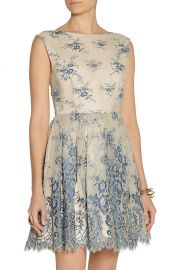 Fila dress by Alice and Olivia at The Outnet