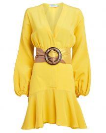 Filis Silk Crepe Mini Dress at Intermix