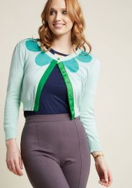 Find Your Flourish Cardigan in Mint at ModCloth