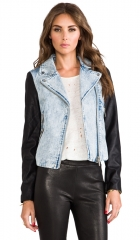 Finders Keepers Moonlight Jacket in Denim and Black  REVOLVE at Revolve