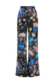 Fireworks Printed Twill Trousers by Peter Pilotto at Rent The Runway